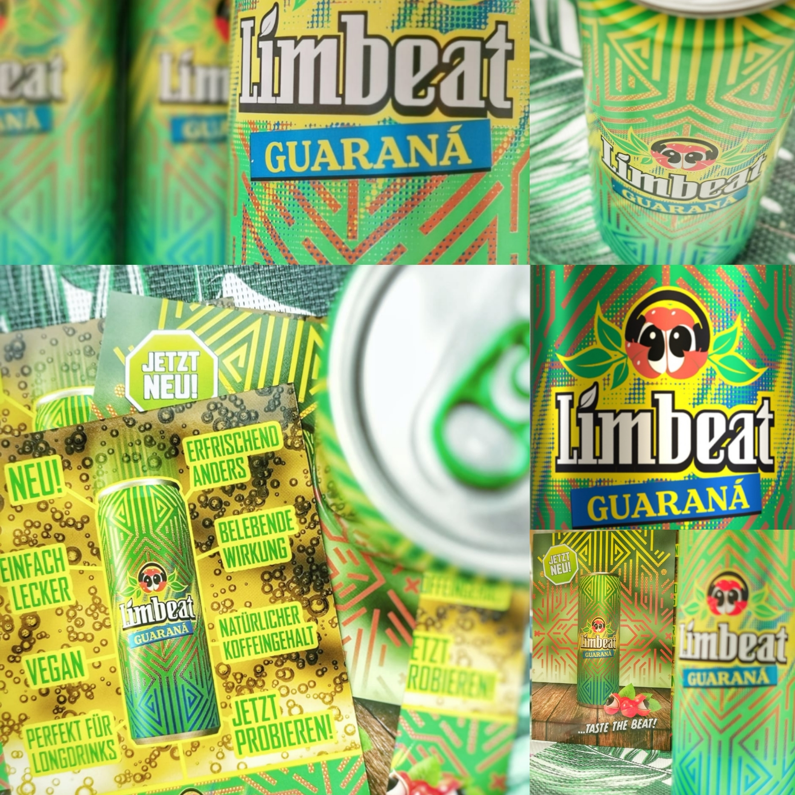 Limbeat Guarana Energydrink